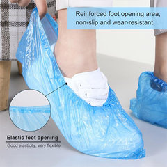 Disposable Plastic Shoe Covers Durable Waterproof
