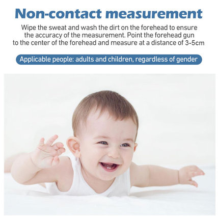 Multifunctional Non-Contact Infrared Thermometer