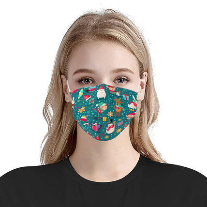 3-ply Disposable Protective Face Mask Ear loop Pleated (10 PCS)